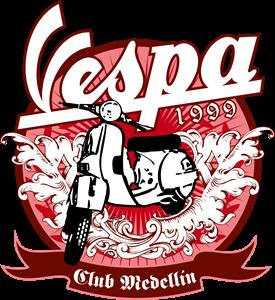 Vespa Club Medellin Logo Free CDR Vectors Art