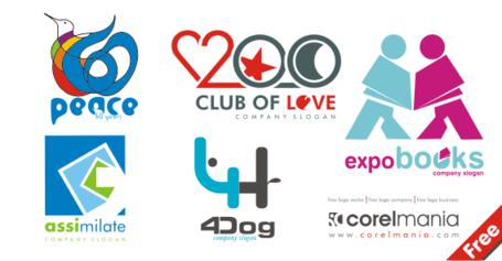 6 Logo Clip Art Free CDR Vectors Art