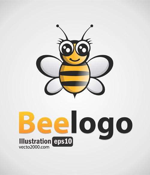 Bee Logo Free Clip Art Free CDR Vectors Art