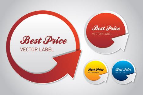 Best Price Vector Label Clip Art Free CDR Vectors Art