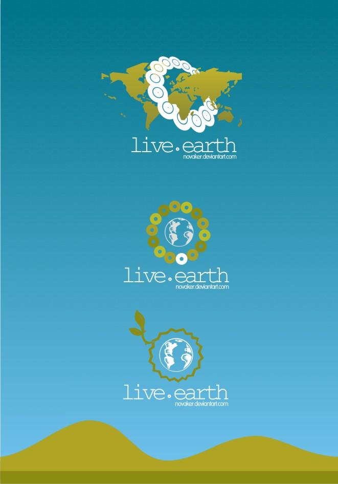 Live Earth Free Logo Design Clip Art Free CDR Vectors Art