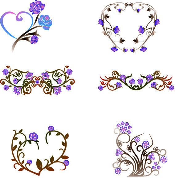 Floral Border Design Free CDR Vectors Art
