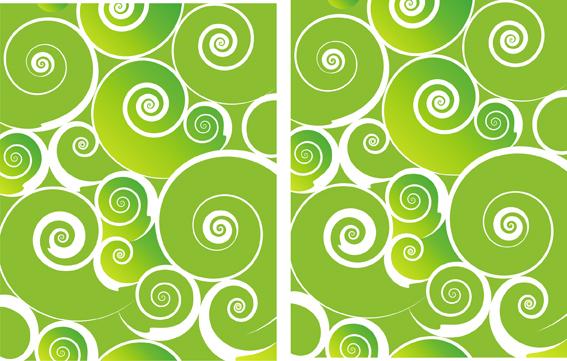 Green Spiral Background Design Elements Free CDR Vectors Art