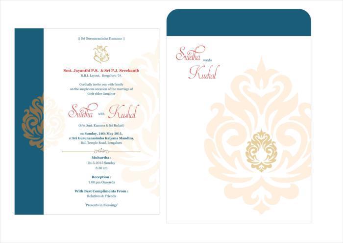 Wedding Card Design M 21 Free CDR Vectors Art