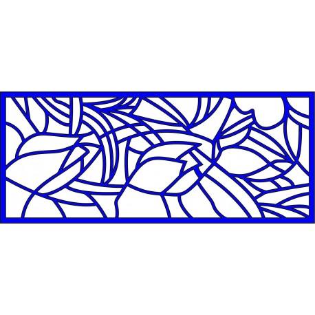 Cnc Panel Laser Cut Pattern File cn-l359 Free CDR Vectors Art