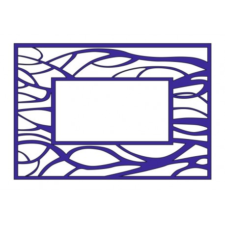 Cnc Panel Laser Cut Pattern File cn-l327 Free CDR Vectors Art