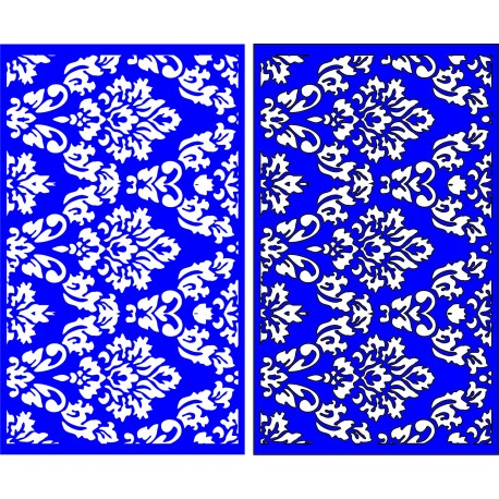 Cnc Panel Laser Cut Pattern File cn-l316 Free CDR Vectors Art