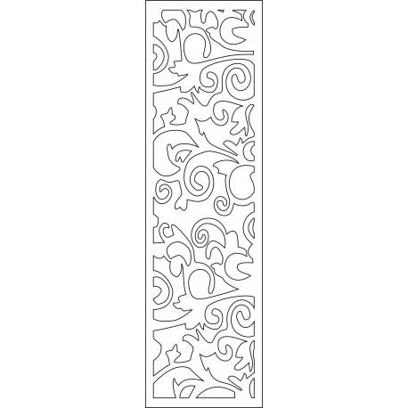 Cnc Panel Laser Cut Pattern File cn-l315 Free CDR Vectors Art