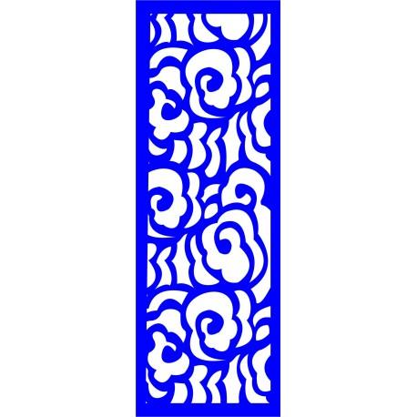 Cnc Panel Laser Cut Pattern File cn-l309 Free CDR Vectors Art