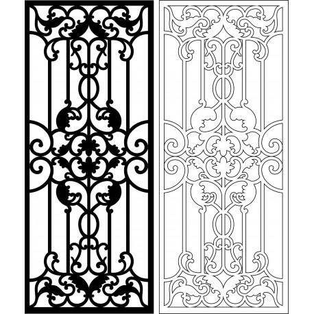 Cnc Panel Laser Cut Pattern File cn-l303 Free CDR Vectors Art