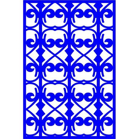 Cnc Panel Laser Cut Pattern File cn-l301 Free CDR Vectors Art