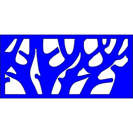 Cnc Panel Laser Cut Pattern File cn-l300 Free CDR Vectors Art
