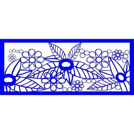 Cnc Panel Laser Cut Pattern File cn-l297 Free CDR Vectors Art