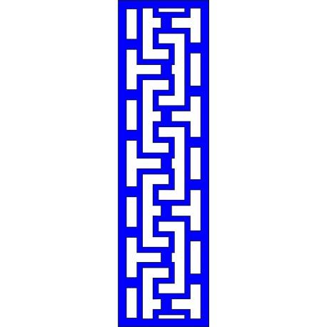Cnc Panel Laser Cut Pattern File cn-l275 Free CDR Vectors Art