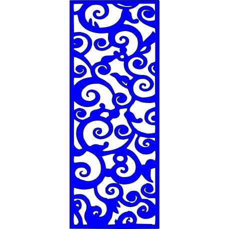 Cnc Panel Laser Cut Pattern File cn-l269 Free CDR Vectors Art