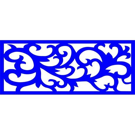 Cnc Panel Laser Cut Pattern File cn-l252 Free CDR Vectors Art