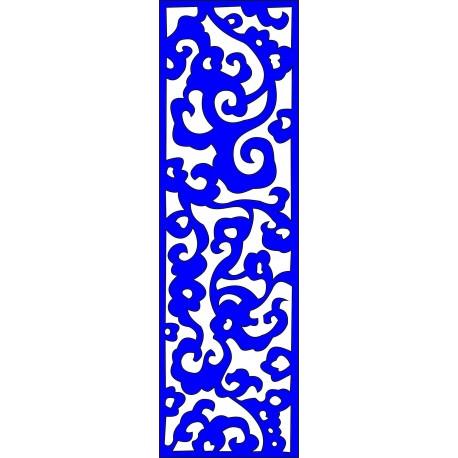 Cnc Panel Laser Cut Pattern File cn-l236 Free CDR Vectors Art