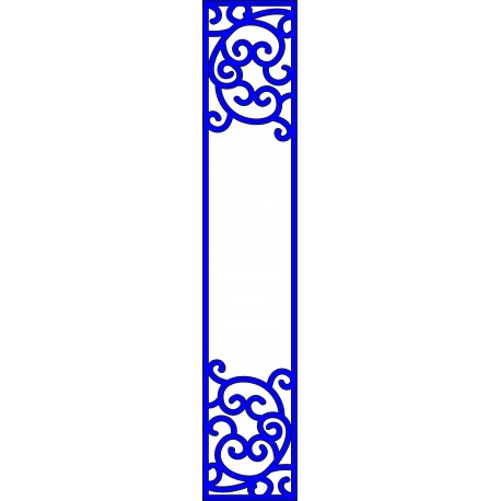 Cnc Panel Laser Cut Pattern File cn-l233 Free CDR Vectors Art
