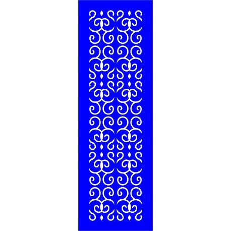 Cnc Panel Laser Cut Pattern File cn-l231 Free CDR Vectors Art