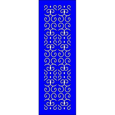 Cnc Panel Laser Cut Pattern File cn-l230 Free CDR Vectors Art