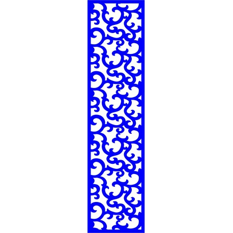 Cnc Panel Laser Cut Pattern File cn-l229 Free CDR Vectors Art