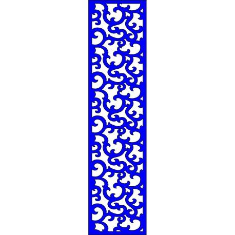 Cnc Panel Laser Cut Pattern File cn-l228 Free CDR Vectors Art