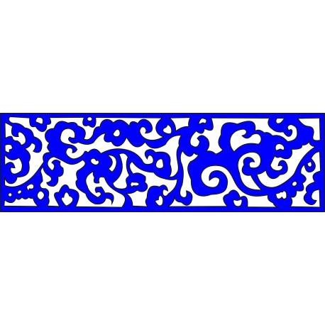 Cnc Panel Laser Cut Pattern File cn-l227 Free CDR Vectors Art
