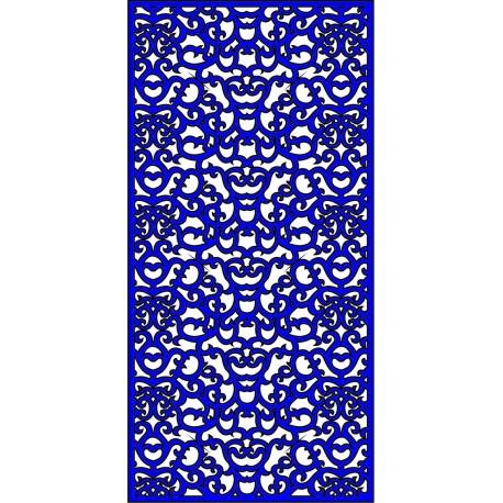 Cnc Panel Laser Cut Pattern File cn-l223 Free CDR Vectors Art
