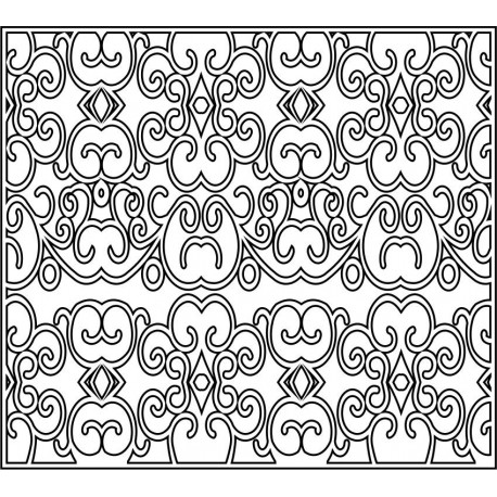 Cnc Panel Laser Cut Pattern File cn-l220 Free CDR Vectors Art