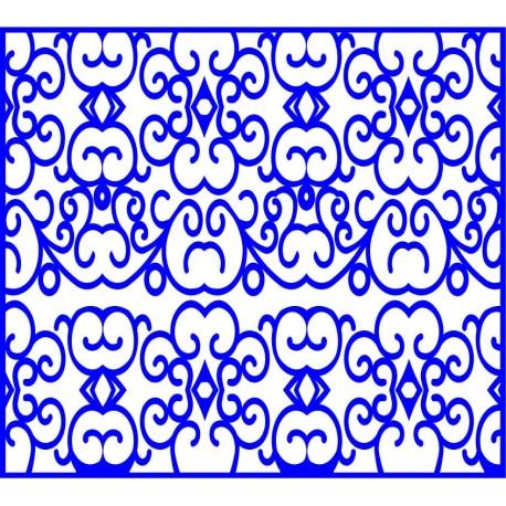 Cnc Panel Laser Cut Pattern File cn-l219 Free CDR Vectors Art