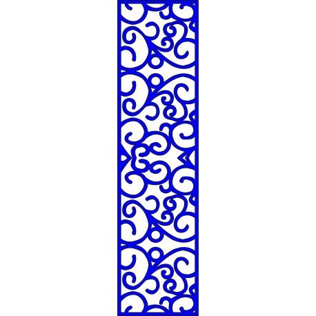 Cnc Panel Laser Cut Pattern File cn-l211 Free CDR Vectors Art