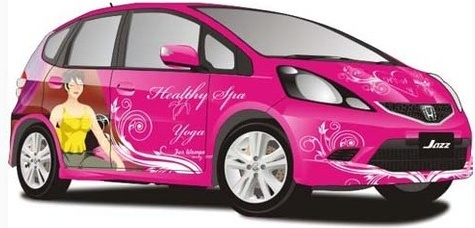 All New Jazz Car Free CDR Vectors Art