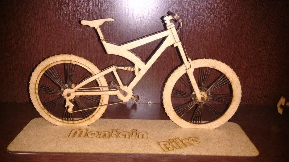 Bicycle 3d Puzzle Free CDR Vectors Art