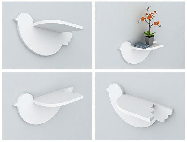 Bird Shelf 20mm Free CDR Vectors Art