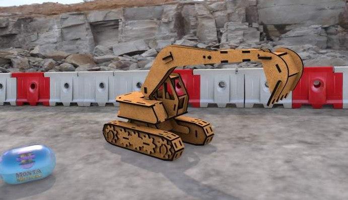 Bulldozer Showal Free CDR Vectors Art