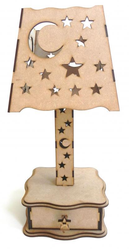 Lamp Stars And Moon Free CDR Vectors Art