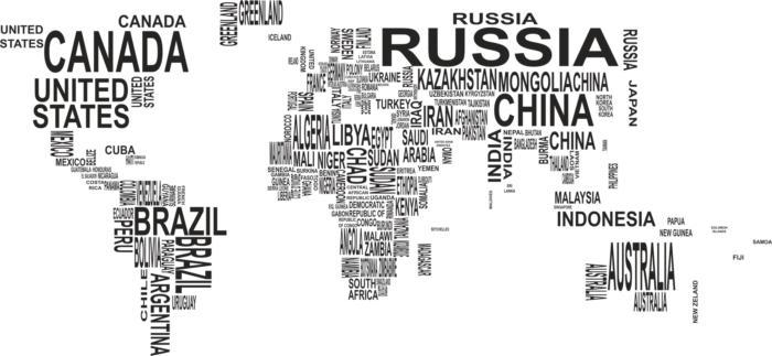 World Map Free CDR Vectors Art