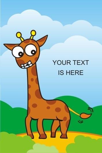 Giraffe Animal Free CDR Vectors Art