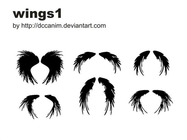 Dccanim Wings1 Free CDR Vectors Art