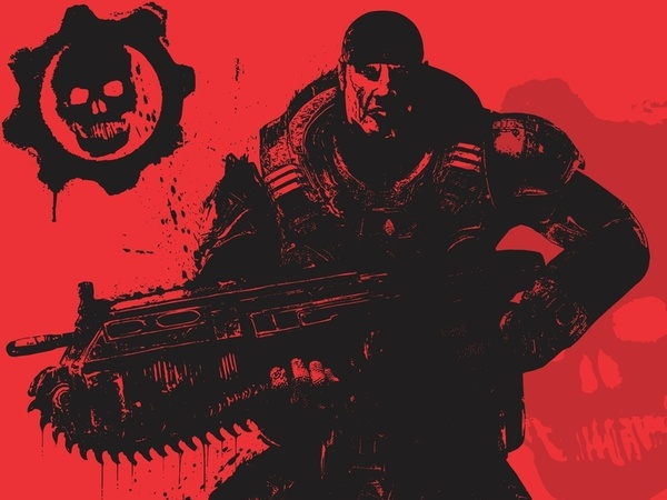 Gears of War (Marcus Fenix) Free CDR Vectors Art