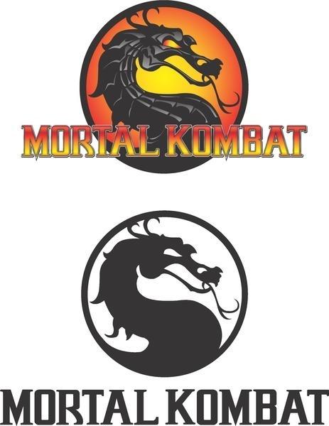 Mortal Kombat Logo Free CDR Vectors Art