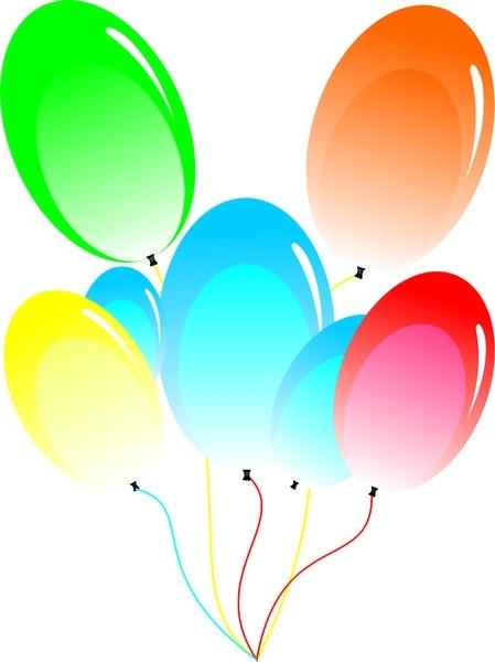 Balloon Free CDR Vectors Art