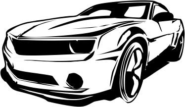 Carro Camaro Limpio Free CDR Vectors Art
