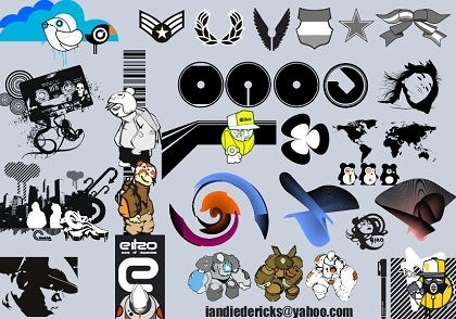 Various icons collection different styl Free CDR Vectors Art
