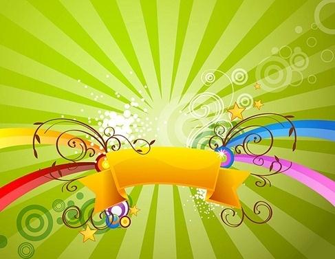 Green Florar Design Graphics Free CDR Vectors Art