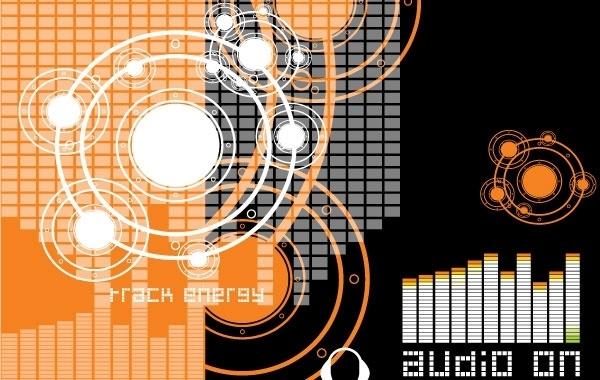 Music Theme 1 Free CDR Vectors Art