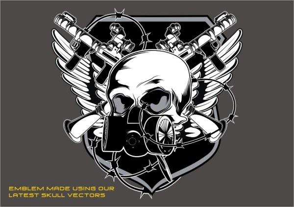 Combination of tshirt printing Free CDR Vectors Art
