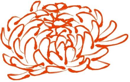 daisy pattern Free CDR Vectors Art