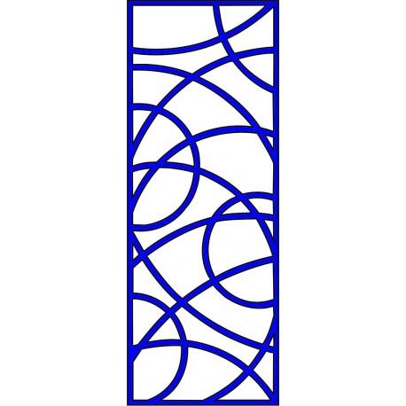 Cnc Panel Laser Cut Pattern File cn-l209 Free CDR Vectors Art