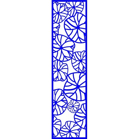 Cnc Panel Laser Cut Pattern File cn-l201 Free CDR Vectors Art